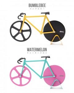 自転車ピザカッター